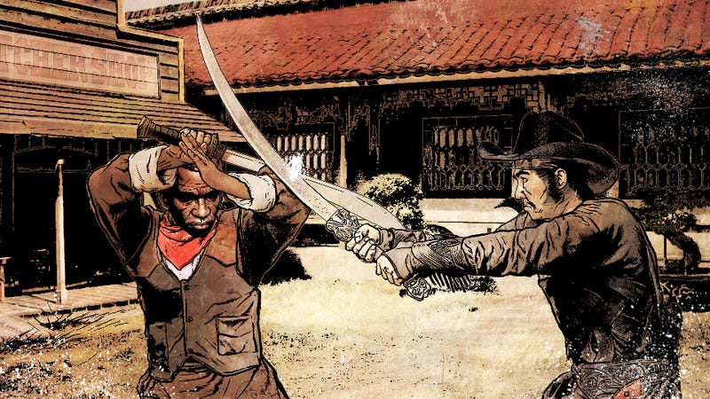Illustration for article titled Kung-fu gunslingers are looking for action in Far West