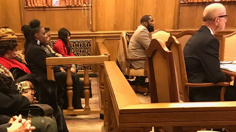 Umar Johnson, second from right (Michael Harriot/The Root)