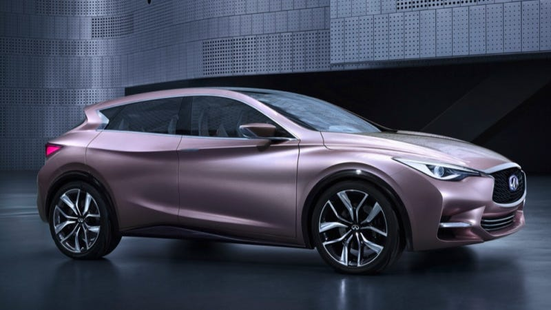 Illustration for article titled The Infiniti Q30 Concept Is Very Swoopy