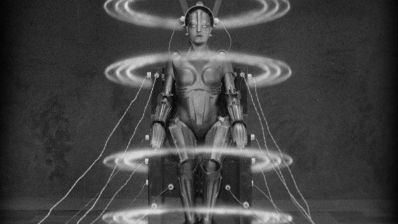 Screenshot: Fritz Lang's Metropolis, much of which was lost for decades and is now restored