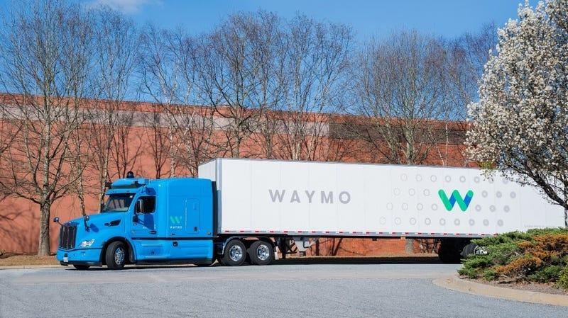 Waymo introduced its semi-truck prototypes last year.