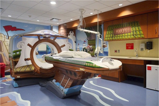 Illustration for article titled A Pirate-Themed CT Scanner to Set Children at Ease