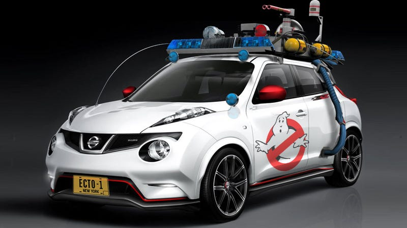 Illustration for article titled These Modern Cars Would Work For The Ghostbusters