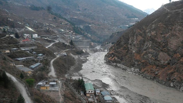 A Hanging Glacial 'Tooth' Caused February's Deadly Indian Flash Flood