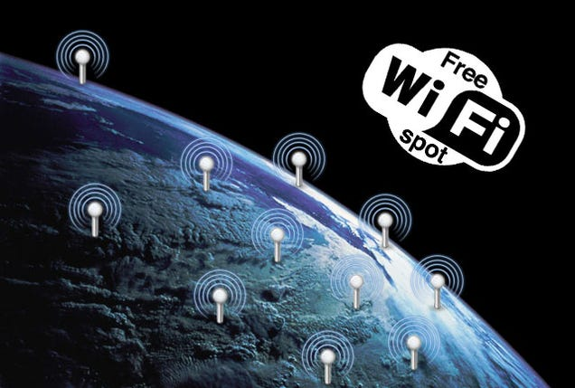 how to get free wifi in canada