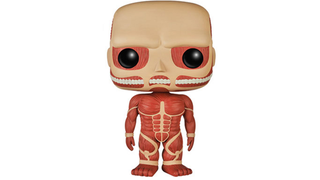Illustration for article titled Even As A Vinyl Toy, Attack On Titan's Titans Look Creepy