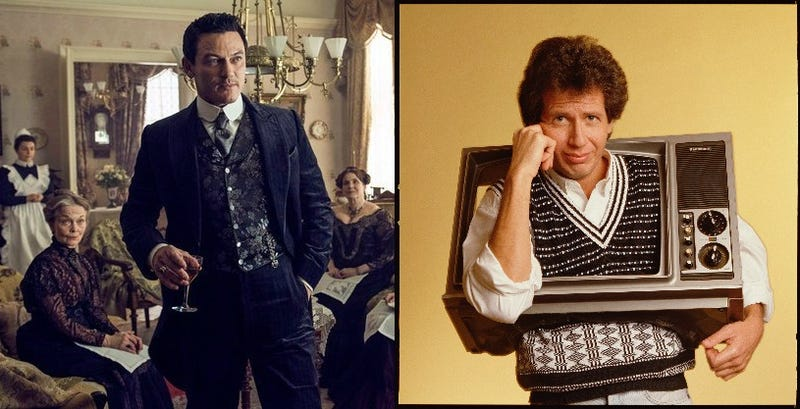Luke Evans in The Alienist; Garry Shandling in The Zen Diaries Of Garry Shandling
