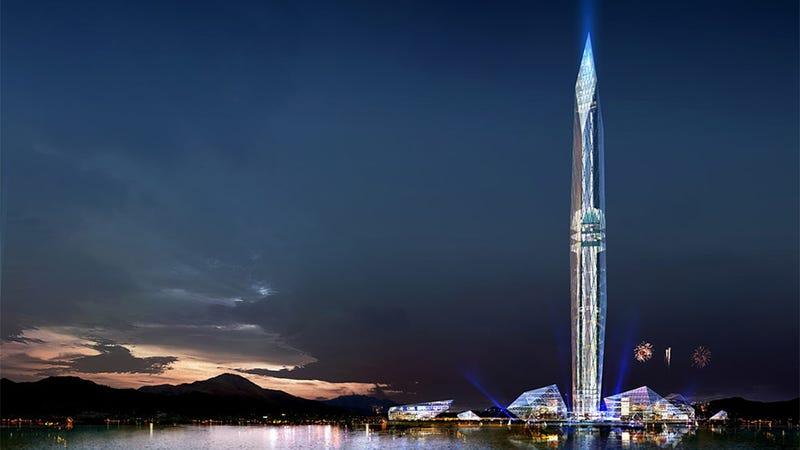 "Illustration for article titled Seúl comienza a construir el primer rascacielos ""invisible"""