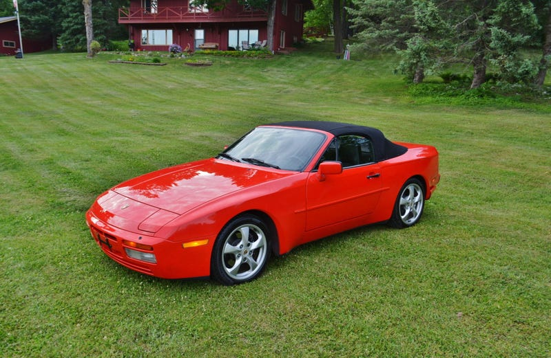 Illustration for article titled At $15,800, Will This 'Restored' 1990 Porsche 944 S2 Cab Prove a Robust Red?