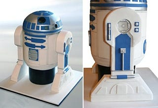 Illustration for article titled R2-D2 Cake Looks Too Delicious to Eat