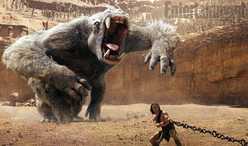 Illustration for article titled John Carter releases the first image of its Martian beast, the White Ape!