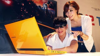 Illustration for article titled This Gaming Laptop Is So Bright, You Gotta Wear 3D Shades