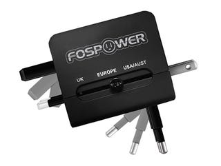 Illustration for article titled Save 50% On The Highly-Rated FosPower International AC & USB Charger
