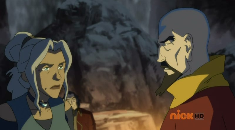 Illustration for article titled This week's Korra reveals that Aang was kind of a sucky dad