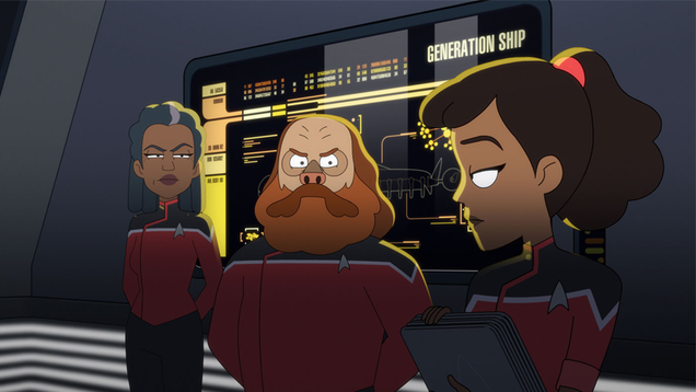 Lower Decks Finally Dives Into What Made Its Star Trek Namesake So Great