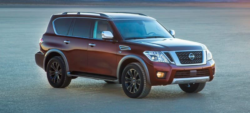 Illustration for article titled 2017 Nissan Armada: The Poor Man's Infiniti QX80 Actually Looks Better