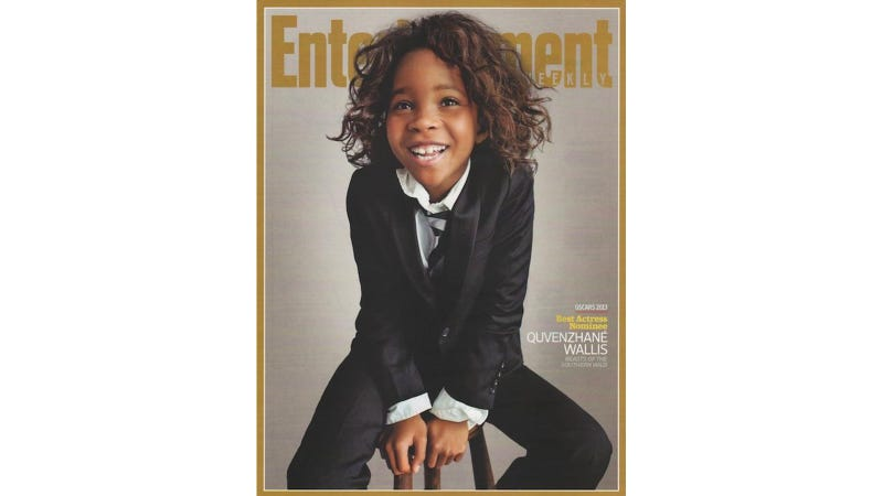 Illustration for article titled Most Adorable Oscar-Nominee Quvenzhané Wallis Looks Adorable in Adorable Photo Shoot