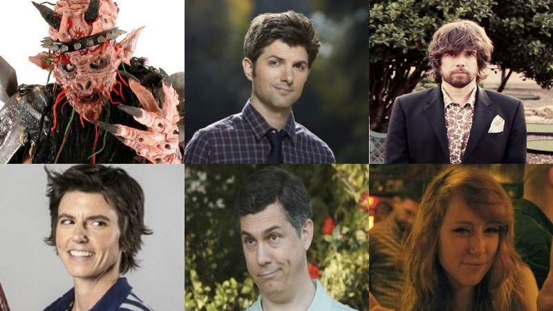 Illustration for article titled Adam Scott, the Sklar Brothers, and GWAR's Oderus Urungus pick their 2012 pop-culture highlights