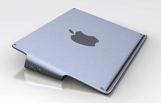 Illustration for article titled MacBook Pro Cooler Design Has USB Ports, Apple Fan
