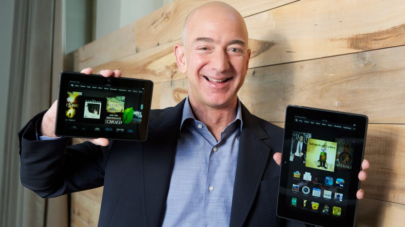 Illustration for article titled How Jeff Bezos Made Amazon Everyone's Everything All of the Time