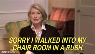 Illustration for article titled Martha Stewart's Secret Message In Commercial Decoded