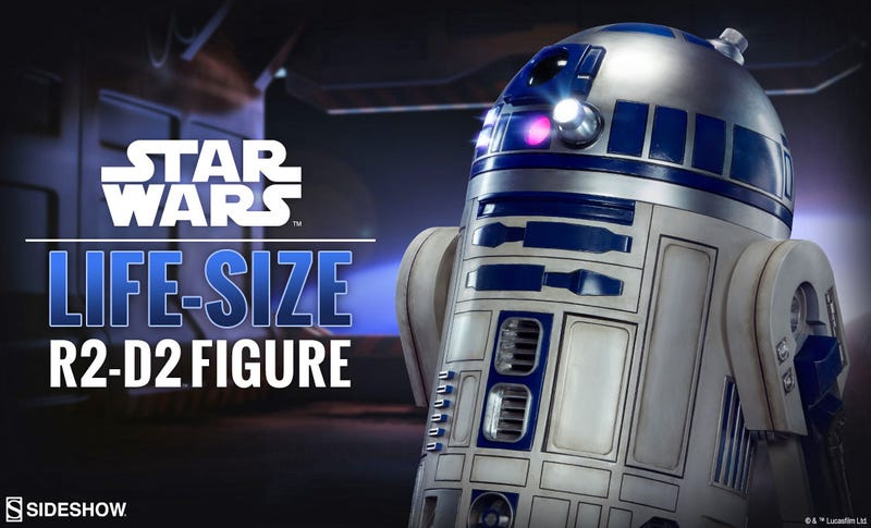 Illustration for article titled The Life-Size R2-D2 Figure You've Always Wanted Is Almost Here