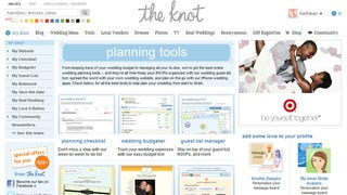 Illustration for article titled The Knot Helps You Plan Everything Related to Your Wedding