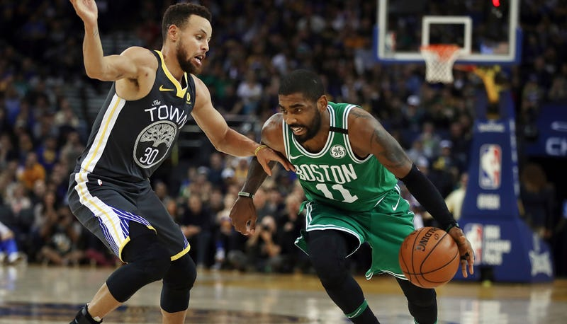 61cab0d3e197 Steph Curry And Kyrie Irving Put On An Incredible Show
