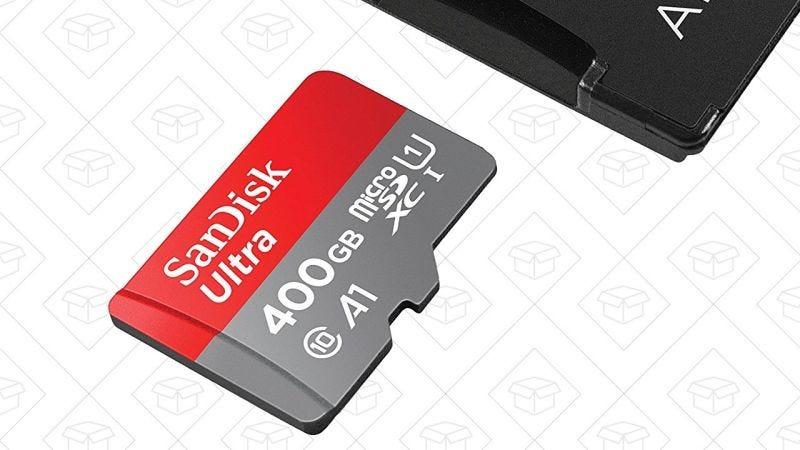 Tarjeta microSD de 400GB | $180 | AmazonGráfico: Shep McAllister