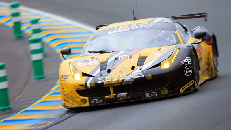 Illustration for article titled Ferrari Impersonates Corvette