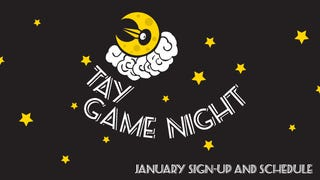 Illustration for article titled TAY Game Night: January Schedule