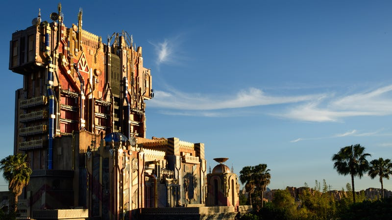 Guardians of the Galaxy Mission Breakout at Disney's California Adventure. Image: Disney