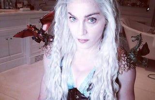 Illustration for article titled Madonna of Dragons