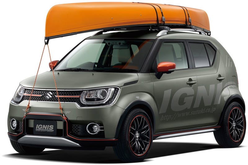 Illustration for article titled Suzuki Ignis Water Activity Concept