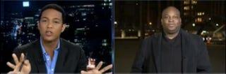 CNN's Don Lemon and Orville Lloyd Douglas.YouTube