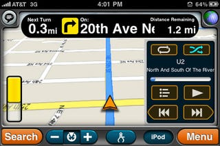 Illustration for article titled MotionX GPS Drive 3.0: The Best Value GPS App Just Got Way Smoother