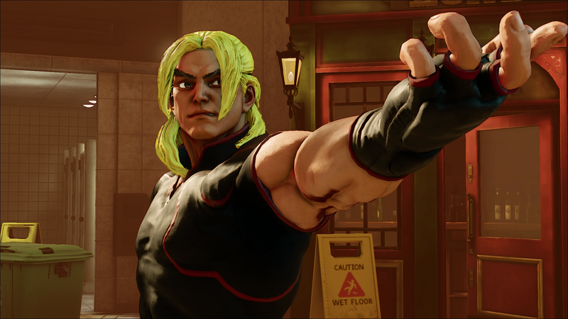 Illustration for article titled Street Fighter V Gets Ken, Mystery Character Teased