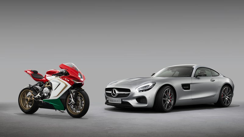 Illustration for article titled ​Mercedes-AMG Just Snagged A Stake In Motorcycle Maker MV Agusta