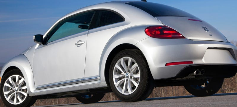 VW Beetle TDI Pictured. Photo Credit: VW