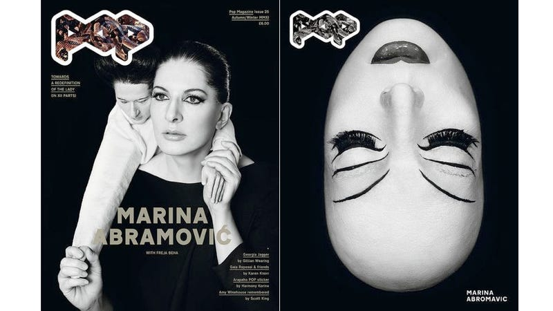 Illustration for article titled Marina Abramović Is On Another Fashion Cover