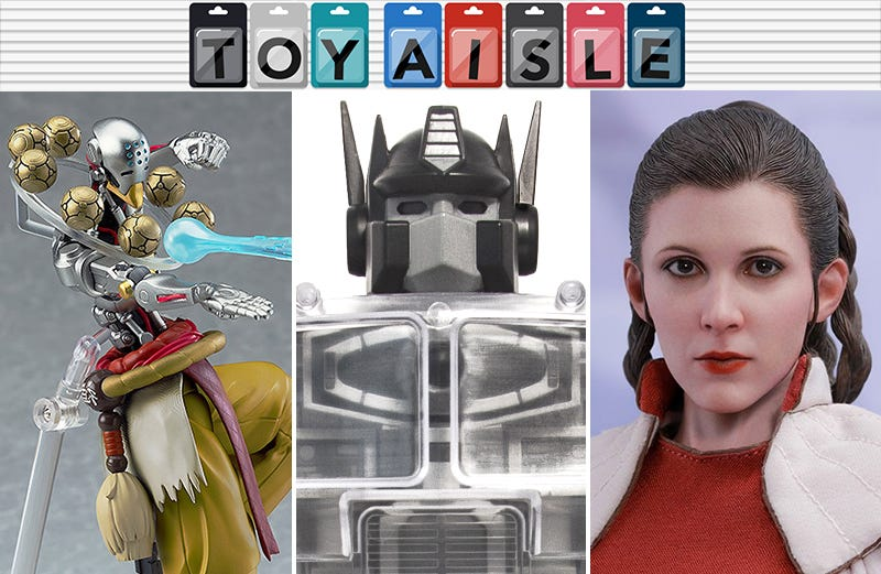 Illustration for article titled Good Robots, Dead Robots, and an Excellent Princess Leia Are Among the Best Toys of the Week