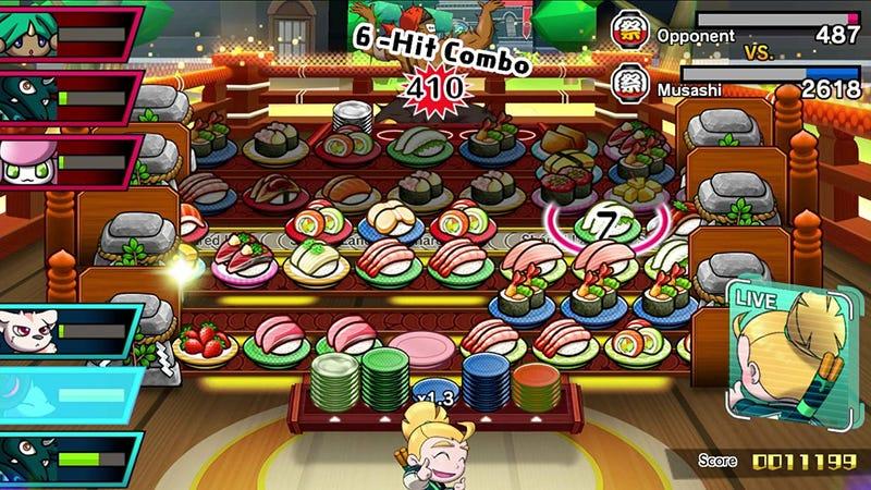 Sushi Striker: The Way of the Sushido | $42 | AmazonImagen: Amazon