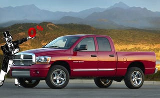"""Illustration for article titled Chrysler To America: """"Please, Please Buy Our 2008 Dodge Ram"""""""