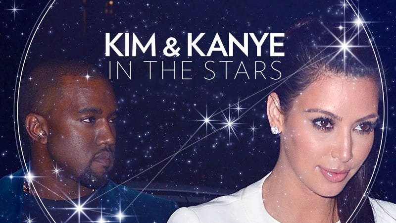 Illustration for article titled Astrologers Attempt to Make Sense of the Kim and Kanye Thing