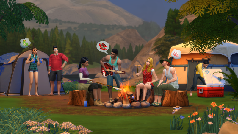Illustration for article titled The Sims 4 Is Getting An Outdoorsy 'Game Pack' Next Month