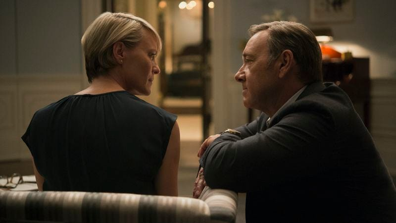 Robin Wright, Kevin Spacey