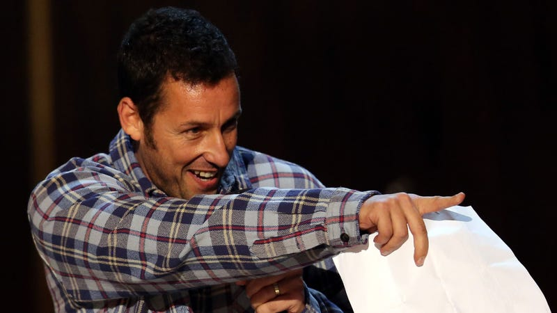 Illustration for article titled Adam Sandler Says His Maid Rubbed Poison Ivy All Over Him