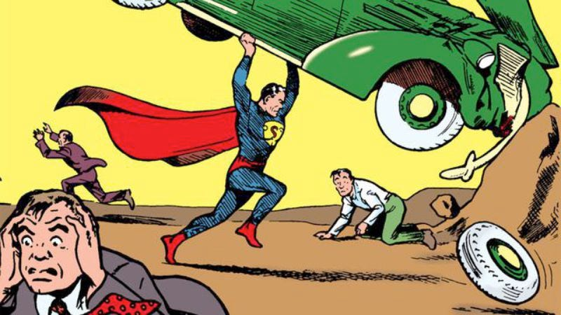 Illustration for article titled  Action Comics #1 sets new world record on eBay