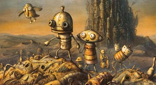 Illustration for article titled Machinarium Review: Beautiful Robots