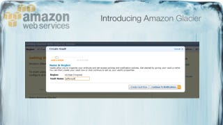 Illustration for article titled Amazon Glacier Archives Your Important Data for a Penny per GB per Month